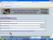 CLRT search screen
